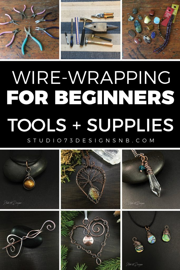 Wire-Wrapping Tools and Supplies for Beginners
