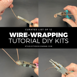 Wire Wrapping Tutorials DIY Jewelry Kits
